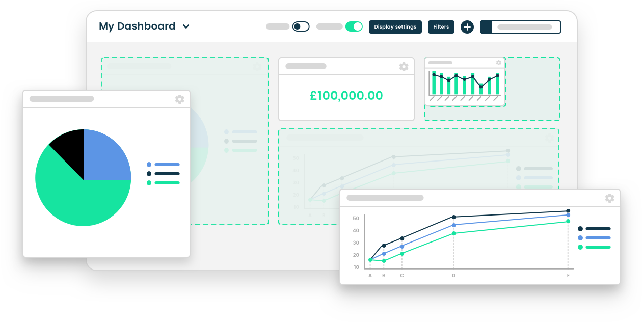<p>Appsumer provides a highly flexible dashboard built for UA teams. You can create endless possibilities and share these with different stakeholders without needing BI support. Graphs, charts, tables and more!</p>